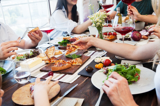 矯正治療と食事